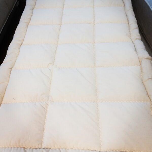 Topper lana cirmolo isolante asciutto rilassante ekobed for Produzione mobilifici treviso